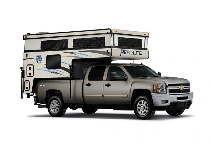 real lite pop top camper