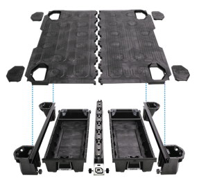 Decked Truck Bed System